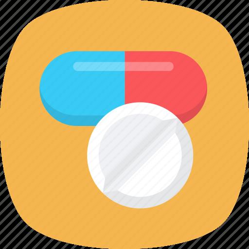medical cure, medication, medicine, pills, tablet icon