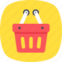 basket, buy, e commerce, purchase, shopping icon