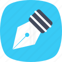 compose, fountain pen, handwriting, pen, writing icon