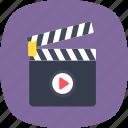 clapper, movie, clapper board, cinema, filmmaking icon