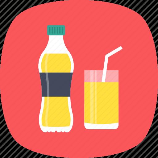 beverage, drink, juice bottle, juice glass, soft drink icon