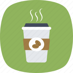 coffee cup, cold coffee, disposable cup, drink, takeaway icon