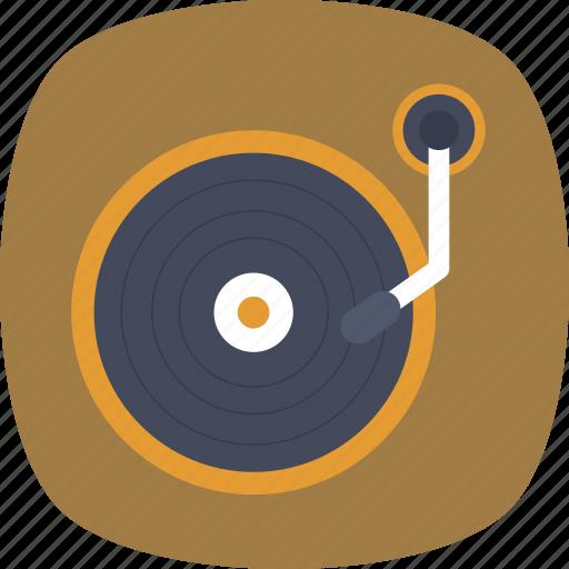gramophone, lp, record player, turntable, vinyl icon