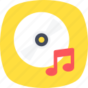 cd, dvd, media, multimedia, music disk icon