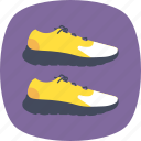 jogging shoe, running shoe, running symbol, sneakers icon