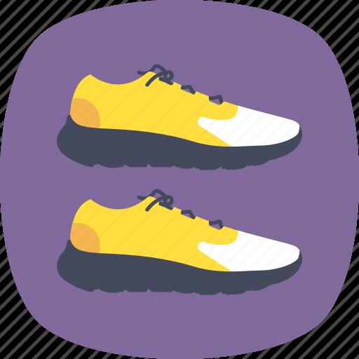 jogging shoe, running shoe, running symbol, sneakers icon