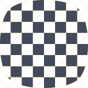 checkered, checkprint, design, racing flag, squares icon