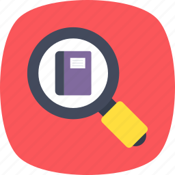 book search, ebook, ebook store, elearning, online library icon