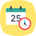 appointment, clock, date, meeting, timetable icon