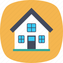 family house, home, house, residential building, villa icon