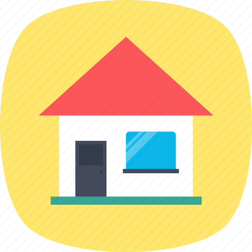 agricultural building, building, country house, rural house icon