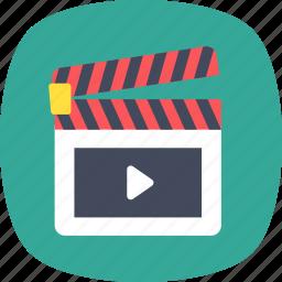 cinema, clapper, clapper board, filmmaking, movie icon