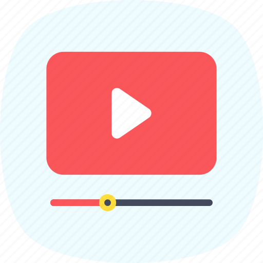 media player, movie, multimedia, video player, video streaming icon