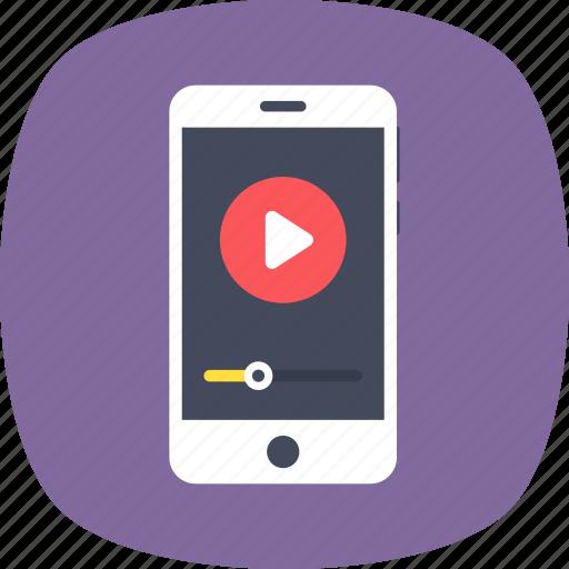 digital media, media player, mobile media, mobile video, multimedia icon