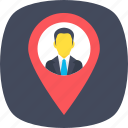 directory protocols, gps, internet locator, location access, user location icon