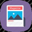 journal, magazine, media, news, publication