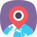 gps, location pin, map locator, map navigation, map pin icon