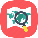 exploration, map pointer, placeholder, search location, search map icon