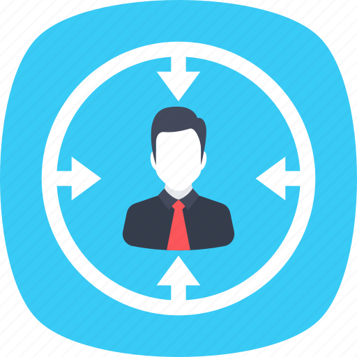 executive search, find employees, headhunting, human resources, recruitment icon