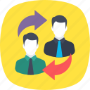 collaboration, cooperation, synergy, teamwork, union icon