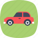 automotive, sedan car, transport, travel, vehicle icon