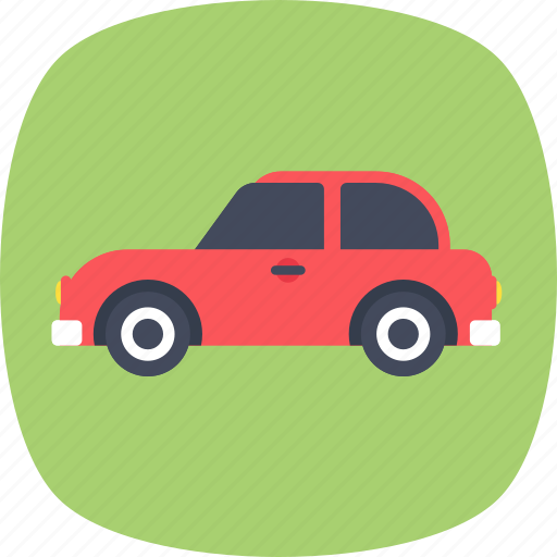 automotive, sedan car, transport, travel, vehicle icon