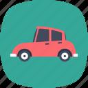 alldays car, auto, automobile, transport, vintage car icon