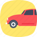 auto, automobile, car, hatchback, transport icon