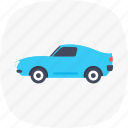 auto, microcar, motorcar, small automobile, transport icon