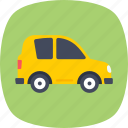 auto, city car, motorcar, small automobile, transport icon