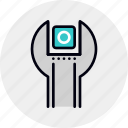 app, installation, maintenance, service, settings, tool icon