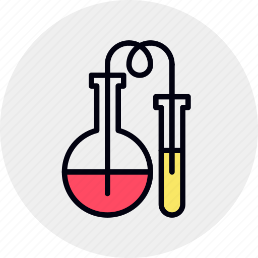 chemistry, flask, glass, lab, research, science, testing icon