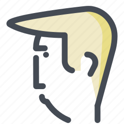 avatar, business, cool, economy, guy, person, trump icon