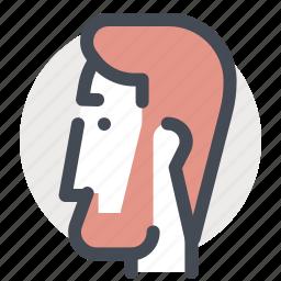 accounting, avatar, beard, business, finance, man, person icon