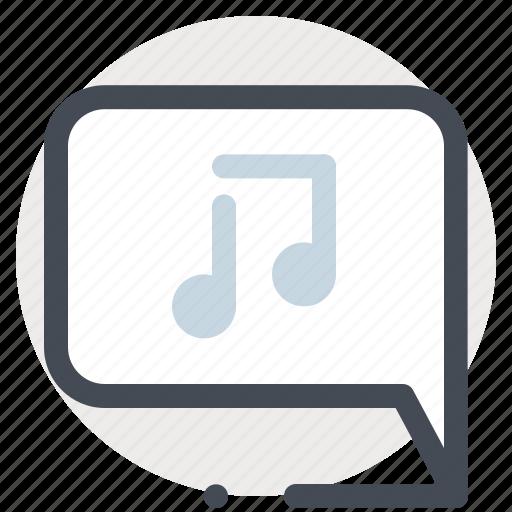 audio, chatting, communication, music, player, sound, speaker icon