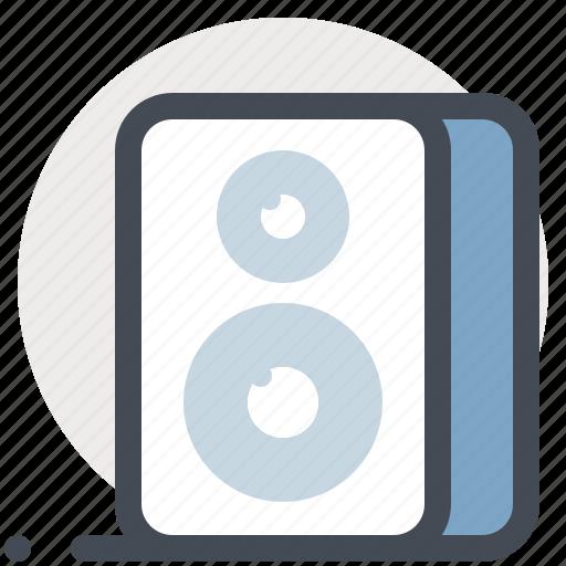 audio, multimedia, music, player, sound, speaker, woofer icon