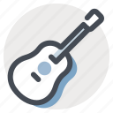 audio, guitar, multimedia, music, musical instrument, sound, speaker icon