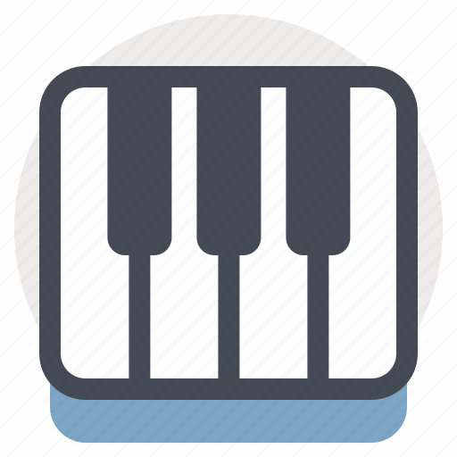 audio, instrument, music, piano, song, sound, sounds icon