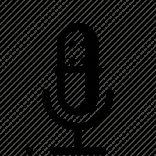audio, mic, music, recorder, sound, speaker, volume icon
