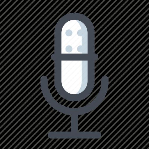 audio, mic, music, player, recorder, sound, speaker icon