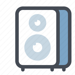 audio, instrument, loud, music, player, sound, speaker icon