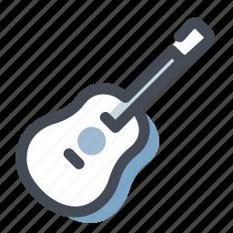audio, guitar, multimedia, music, musical instrument, sound, speaker icon