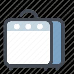 amplifier, audio, instrument, multimedia, music, sound, speaker icon