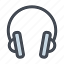 audio, device, earphone, headphone, music, sound, speaker icon