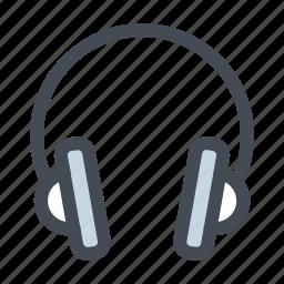 audio, device, earphone, headphone, music, sound, speaker icon