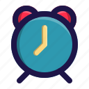 alarm, app, clock, interface, time, user icon
