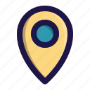 app, interface, location, map, user icon