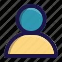 app, interface, man, person, user icon