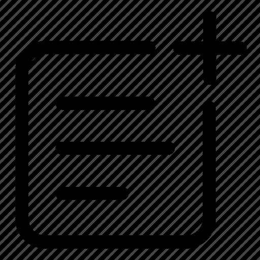 add, compose, new, text, write icon