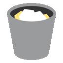 trash, full, bin, recycle, recycle bin